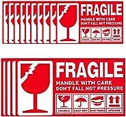 PACKHUP FRAGILE Warning Sticker label - roll 9x5cm1000pcs (9x5cm 1000pcs)