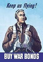 "Keep Us Flying–Buy War Bonds Fineアートキャンバス印刷(20"" x30"")"