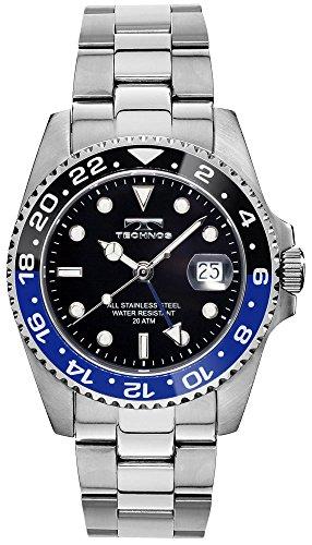 TECHNOS テクノス GMT 限定モデル メンズ 腕時計 T2134NB