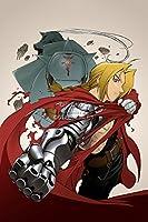 """CGC Hugeポスター–Fullmetal Alchemist BrotherhoodアニメポスターHagane no Renkinjutsushi–ani228 24"""" x 36"""" (61cm x 91.5cm)"""