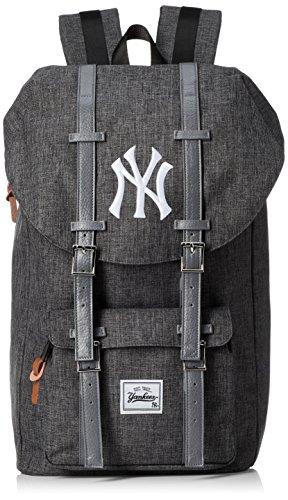 [メジャーリーグベースボール]リュック フラップリュック デイパック リュックサック ポリキャン ヤンキース レディス メンズ 大容量 YK-MBBK64 ライトグレー