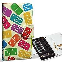 スマコレ ploom TECH プルームテック 専用 レザーケース 手帳型 タバコ ケース カバー 合皮 ケース カバー 収納 プルームケース デザイン 革 ユニーク カラフル サイコロ さいころ 模様 007760