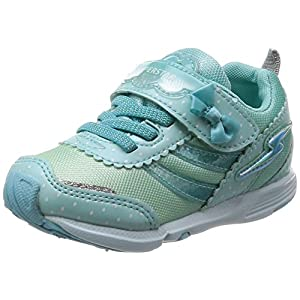 [スーパースター] 運動靴 通学履き バネ バネのチカラ 女の子 軽量 マジック ゆったり SS K800