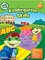 LeapFrog Kindergarten Skills Workbook with 60 Pages and 60 Reward Stickers (19401) [並行輸入品]