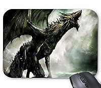 ブラックドラゴンファンタジーマウスパッド