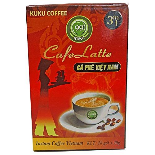 KUKUインスタントベトナムコーヒ3in1(20g×18袋)
