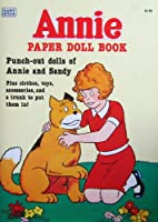 Little Orphan Annie Paper人形BOOK Uncut WパンチアウトAnnie & Sandy Dolls ( 1982年)