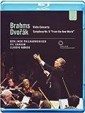 Brahms: Violin Concerto / Symphony No. 9 [Blu-ray] [Import]