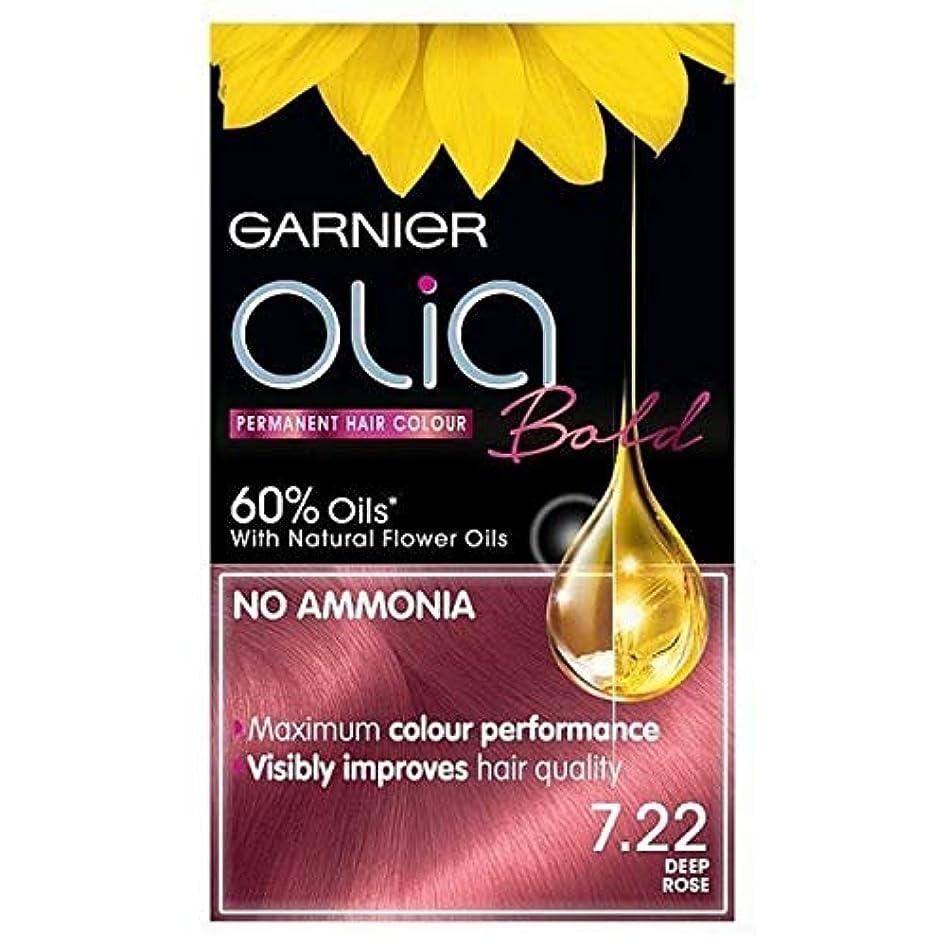 ピアニスト本部南アメリカ[Garnier ] ガルニエOlia大胆永久染毛剤には、深い7.22をバラ - Garnier Olia Bold Permanent Hair Dye Deep Rose 7.22 [並行輸入品]