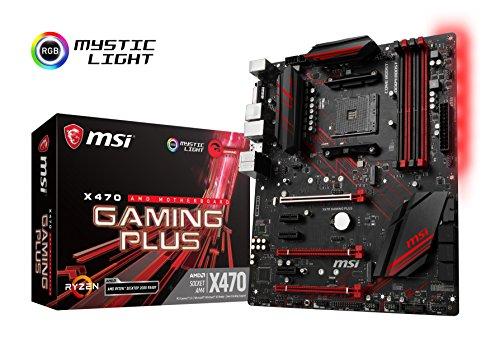 MSI X470 GAMING PLUS ATX ゲーミングマザーボード AMD MB4388 B07CCD4LKL 1枚目