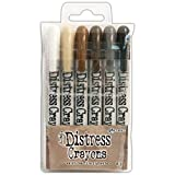 Tim Holtz Distress Crayon Set-Set #3 by Faber Castell