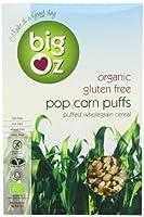 Big Oz Organic Pop Corn Puffs Cereal 175 g (Pack of 5)