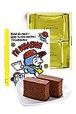 バレンタイン I'm Doraemon プレミアム チョコレート カステラ プチギフト 個包装2個 レッドキャップ