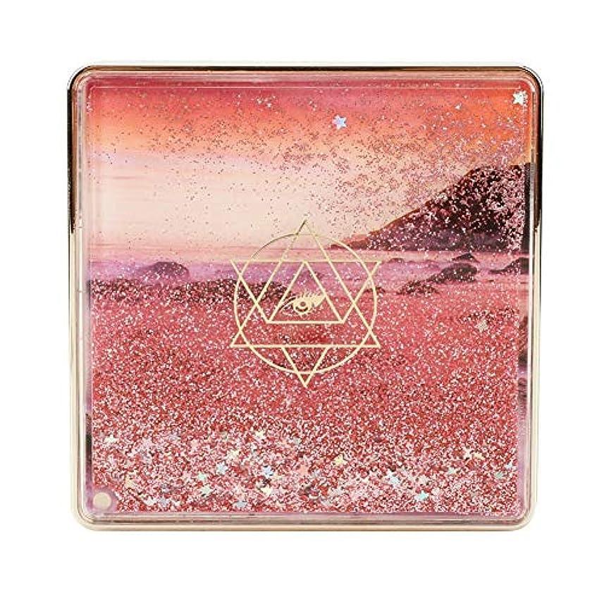 ウッズリア王手荷物2種類9アイシャドウパレット、アイシャドウパレット化粧マットグロスアイシャドウパウダー化粧品ツール(01)