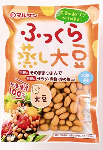 マルサン ふっくら蒸し大豆 100g×10個の詳細を見る