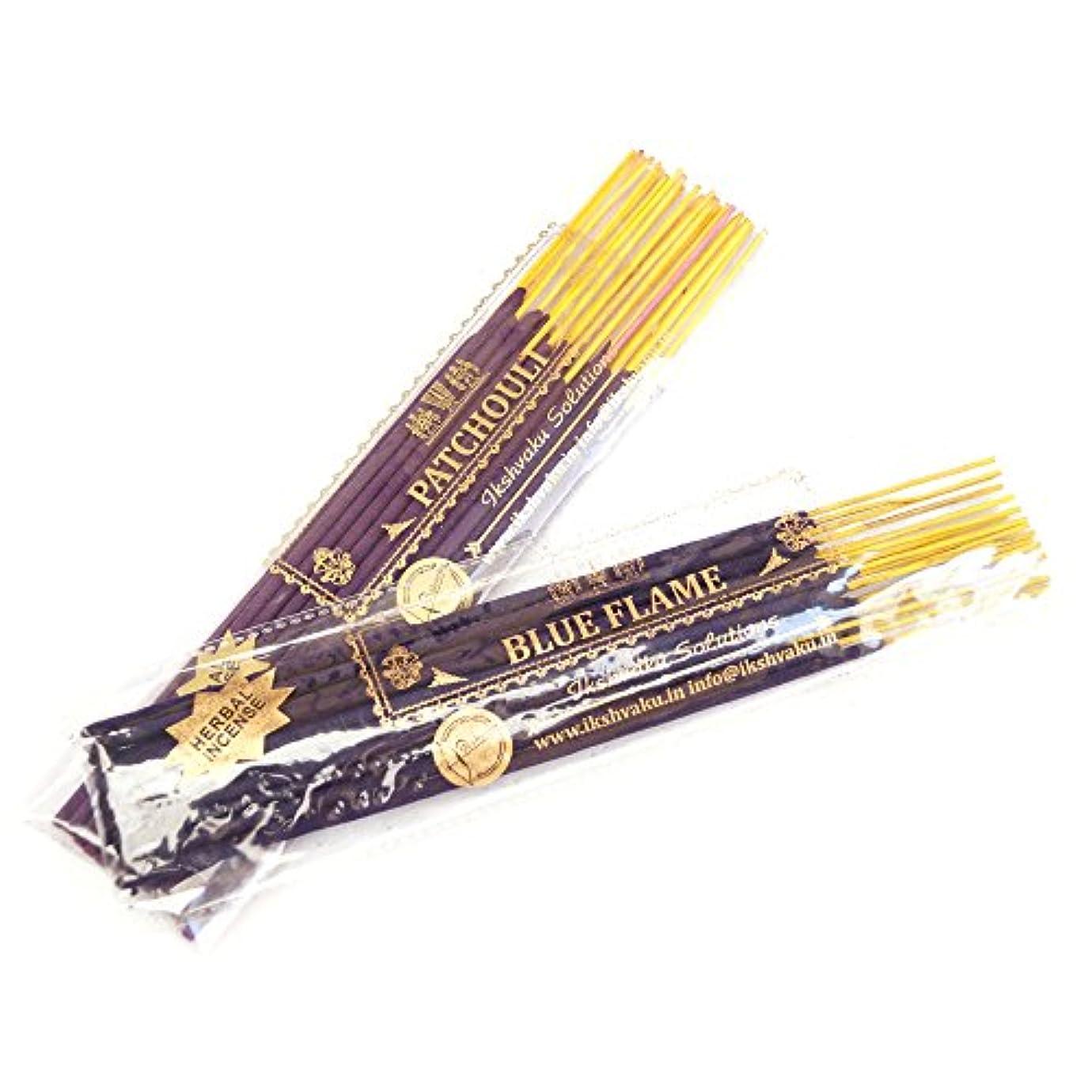 慈善相関する眩惑するパチュリブルーFlame Incense Sticks Combos
