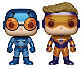 Funko - Figurine DC Comics - 2-Pack Blue Beetle And Booster Gold Exclu Pop 10cm - 0889698248570