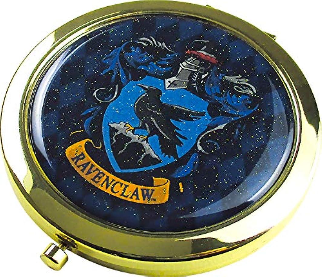 ホーン州アナログティーズファクトリー Wコンパクトミラー ハリー?ポッター/レイブンクロー 6.6×6.6×0.8cm HP-5537055RA