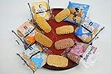 NEW感謝のちんすこう 24個(12袋) 6種類(パイン、プレーン、焼き塩、黒糖、紅いも、ココナッツ)【メール便 送料無料】