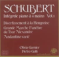 Schubert: Integrale piano a 4 mains Vol. 1 - Pietro Galli