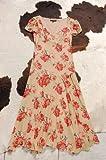 ブラウンローズプリントドレス ベッツィ ジョンソン画像④
