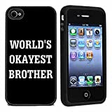 Best BROTHER iPhone 4ケース - Worlds Okayest Brother Case / Cover For iPhone Review