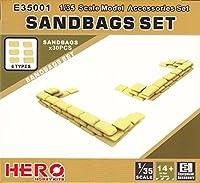 ヒーローホビーキッツ 1/35 サンドバッグセット 30個 プラモデル HHKE35001