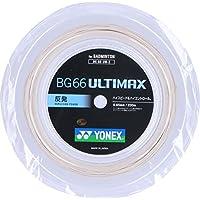 ヨネックス(YONEX) バドミントン ストリング BG66アルティマックス BG66 ULTIMAX