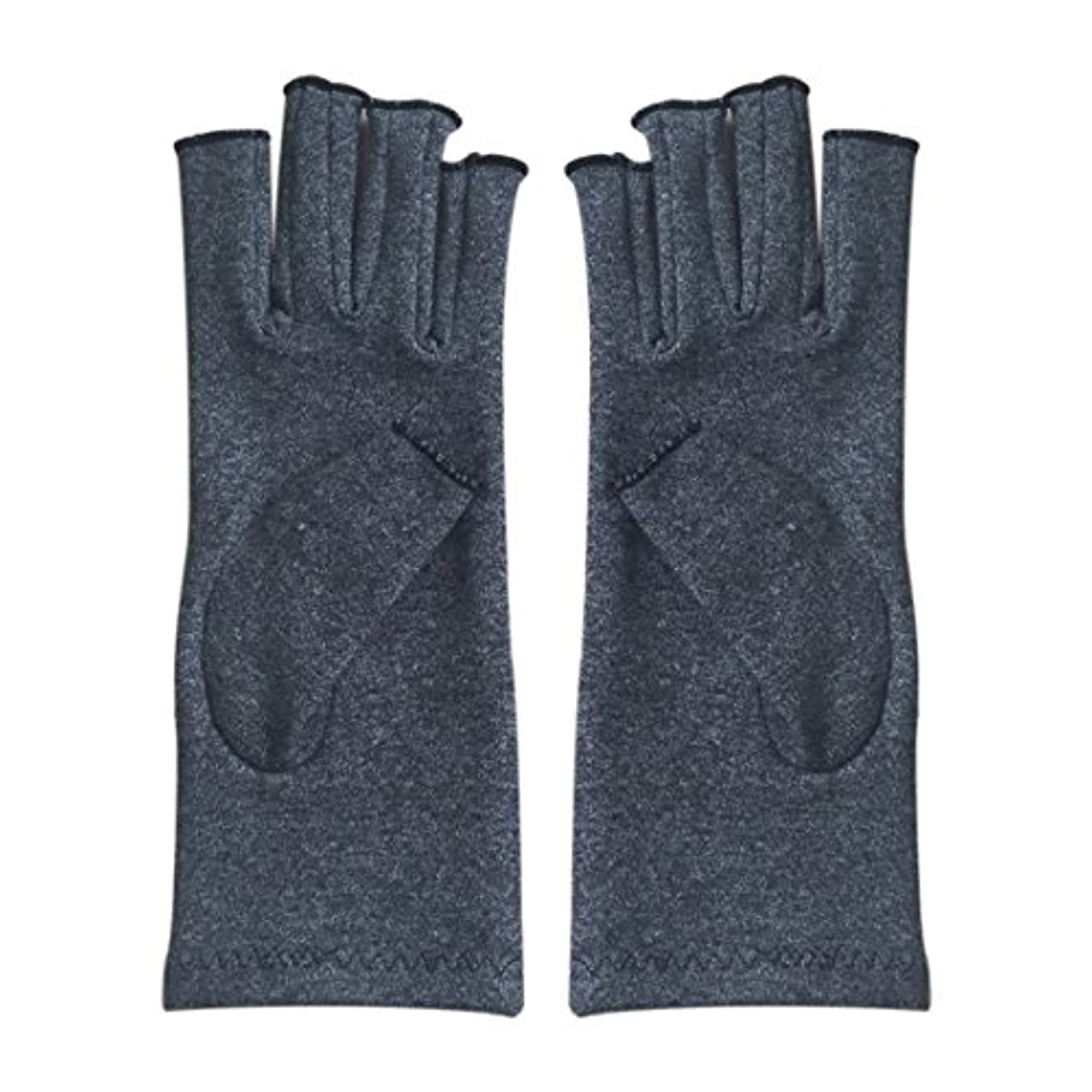マーティンルーサーキングジュニアエジプト人サーバTOOGOO ペア 弾性コットンコンプレッション手袋 ユニセックス 関節炎 関節痛 鎮痛 軽減 S 灰色