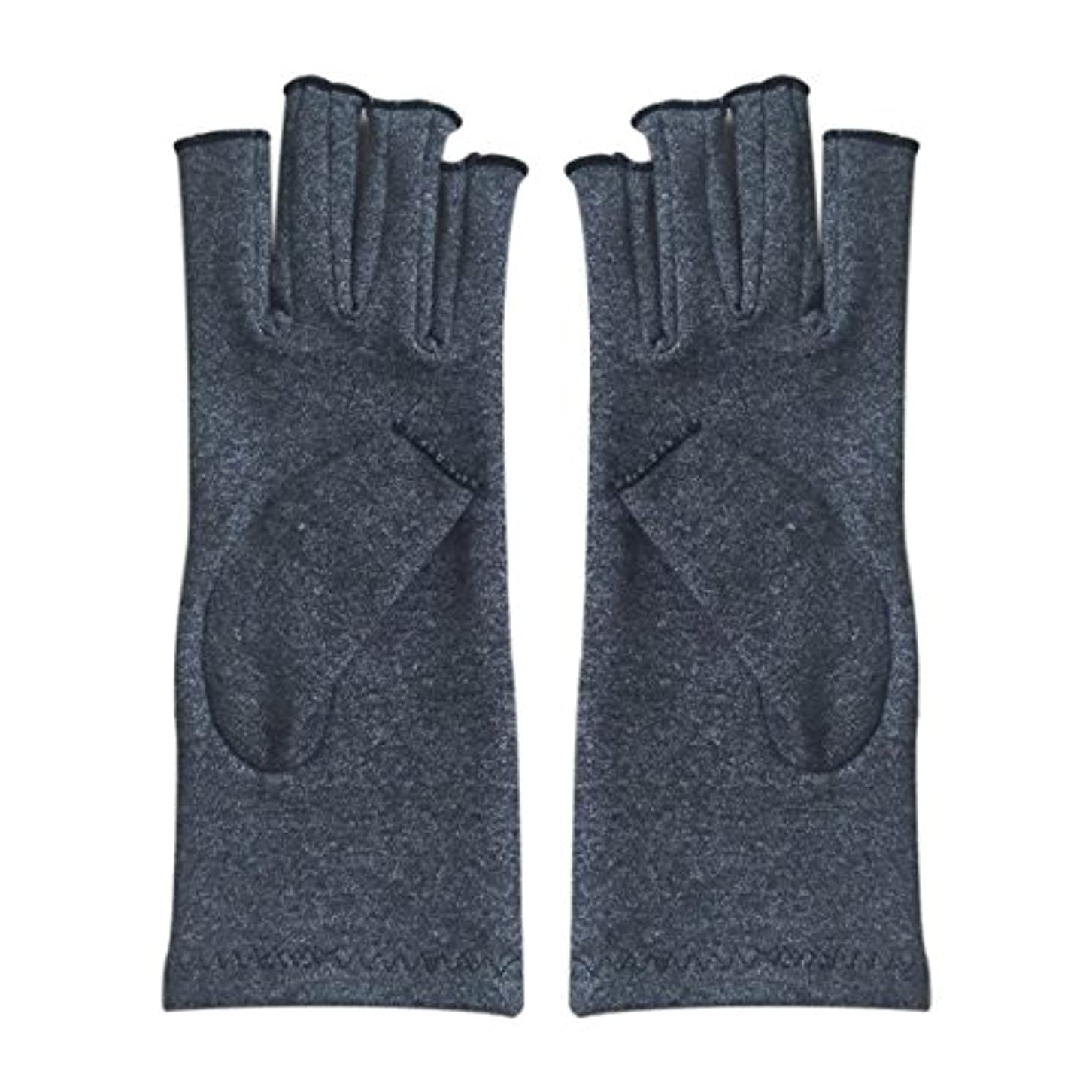 まで余裕がある選択CUHAWUDBA 1ペア成人男性女性用弾性コットンコンプレッション手袋手関節炎関節痛鎮痛軽減S -灰色、S