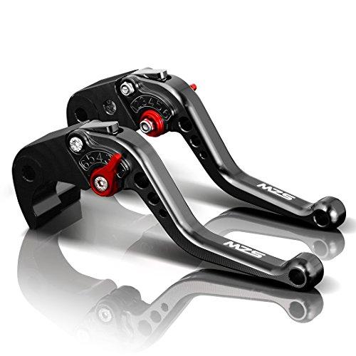 MZS 6段調整 ブレーキ クラッチ レバー 用 ホンダ CB1100/GIO Special 2013-2017,CBF1000/A 2010-2013,CB1300 ABS 2003-2010 ブラック