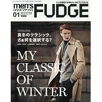 men's FUDGE(メンズファッジ) 2016年 01 月号