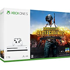Xbox One S 1 TB PlayerUnknown's Battlegrounds 同梱版 (234-00316)
