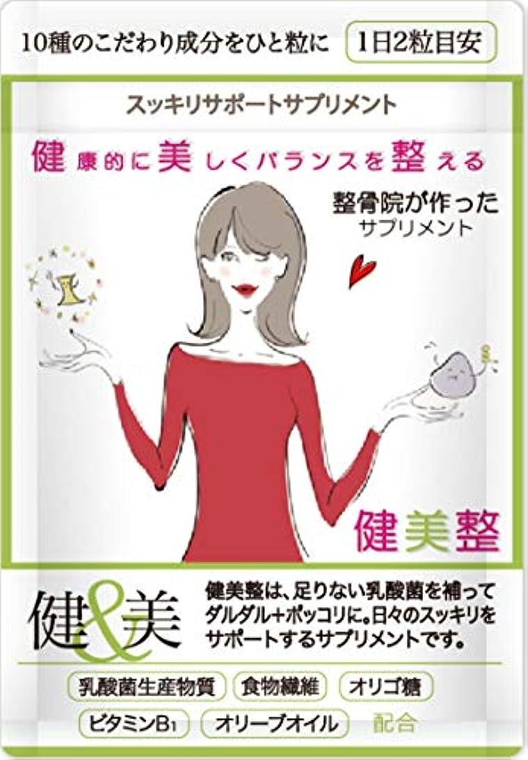 日光リンケージ失礼なダイエット サプリメント 人気 酵素 健美整プラス 腸内環境 炭 60粒1か月分(1)