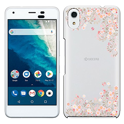 「Breeze-正規品」iPhone ・ スマホケース ポリカーボネイト [透明-Pink]Ymobile android one S4/softbank DIGNO J 兼用 京セラ アンドロイドワン S4ケース android one S4カバー DIGNO Jケース カバー 液晶保護フィルム付 全機種対応 [ONES4]