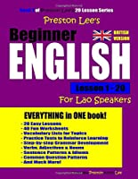 Preston Lee's Beginner English Lesson 1- 20 For Lao Speakers (British)