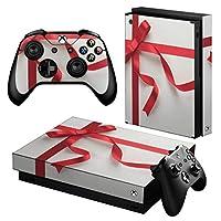 igsticker Xbox One X 専用 スキンシール 正面・天面・底面・コントローラー 全面セット エックスボックス シール 保護 フィルム ステッカー 000865