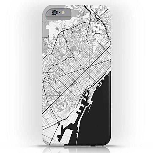 society6バルセロナマップグレースリムケースiPhone 6Plus