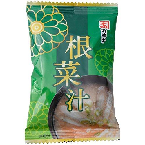 長友味噌醤油醸造元 カネナしょうゆ カネナフリーズドライ根菜汁 10.9g [6229]