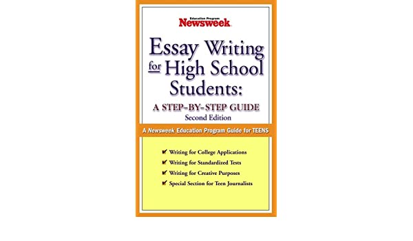 Essay Writing for High School Students A Step-by-Step Guide