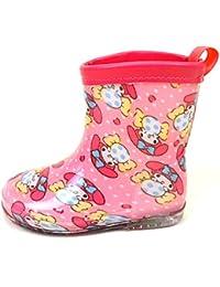 キッズ 子供 用 長靴 サンリオ マイメロディ ぼんぼんりぼん レインブーツ 女の子 女児 雨具 保育園 小学生 fo-rein02 16cm マイメロディ