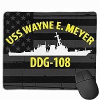 USSウェインEマイヤーDDG-108マウスパッド滑り止めゲーミングマウスパッドマウスパッド