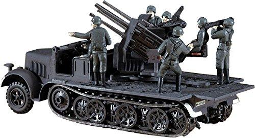 ハセガワ 1/ 72 8トンハーフトラック20ミリ4連装砲 MT14  B