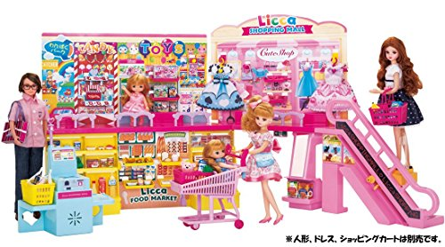 リカちゃん セルフレジでピッ! おおきなショッピングモール