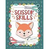 Scissor Skills Preschool Workbook for Kids: A Fun Cutting Practice Activity Book for Toddlers and Kids ages 3-5: Scissor Prac