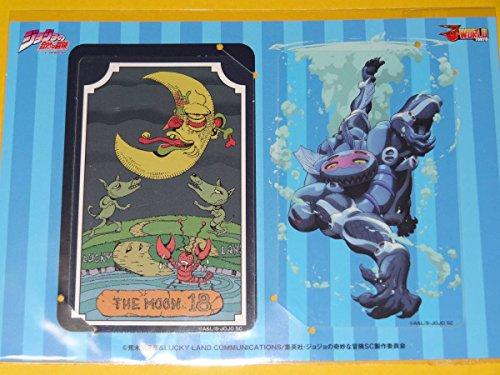 ジョジョの奇妙な冒険 3部 J-WORLD ICカードステッカー 暗青の月 アナルファックブルームーン