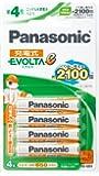 パナソニック 充電式EVOLTA 単4形充電池 4本パック お手軽モデル HHR-4LWS/4B