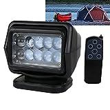 OVOTOR 防水リモコン式LEDサーチライト 作業灯 釣り アウトドア キャンプ 非常灯 船舶照明車両外光 50W