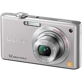 パナソニック デジタルカメラ LUMIX (ルミックス) FX40 プレシャスシルバー DMC-FX40-S