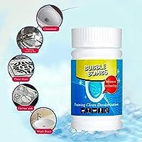 Tichan バブルボム 急速発泡剤クリーナー 多機能 洗濯機のシンクパイプライン 浚渫剤のトイレ 高速発泡クリーナー クリーニング用品 (280g)